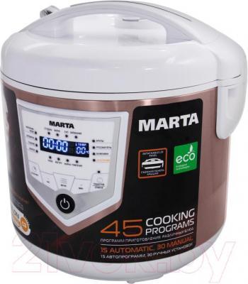 Мультиварка Marta MT-4300 (белый/шампань)