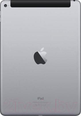 Планшет Apple iPad Air 2 64Gb 4G / MGHX2TU/A (серый) - вид сзади