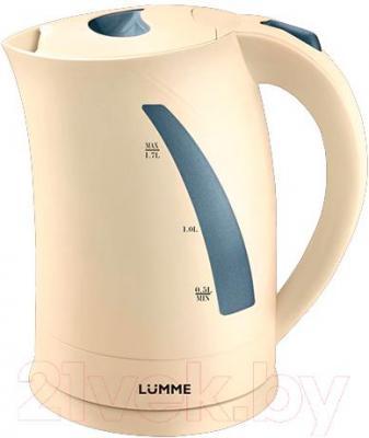 Электрочайник Lumme LU-227 Scelta (кремовый) - общий вид