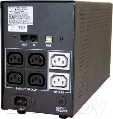 ИБП Powercom Imperial IMP-2000AP 2000VA - вид сзади