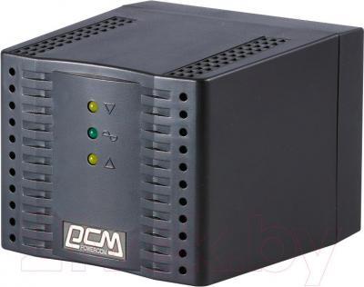 Стабилизатор напряжения Powercom TCA-1200 (Black) - общий вид