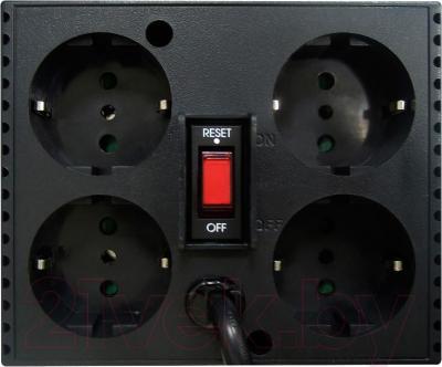 Стабилизатор напряжения Powercom TCA-2000 (Black) - вид сзади