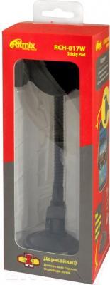 Держатель для портативных устройств Ritmix RCH-017 W Sticky Pad - упаковка
