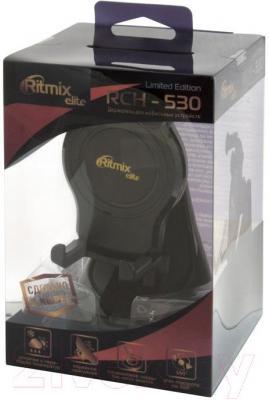 Держатель для портативных устройств Ritmix RCH-530 Limited Edition - упаковка