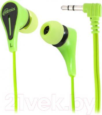 Наушники Ritmix RH-012 (Green) - общий вид