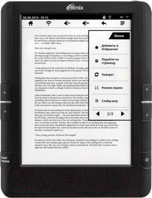 Электронная книга Ritmix RBK-695FL - общий вид