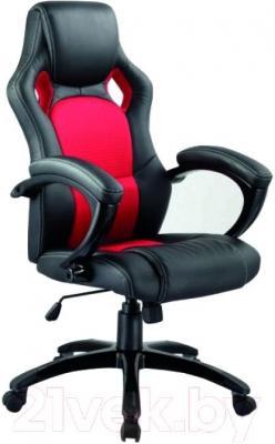 Кресло офисное Signal Q-107 (черно-красный) - общий вид