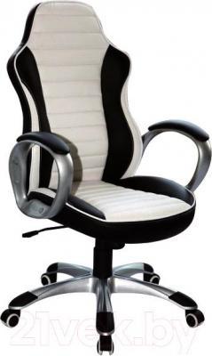 Кресло офисное Signal Q-112 (White-Black) - общий вид