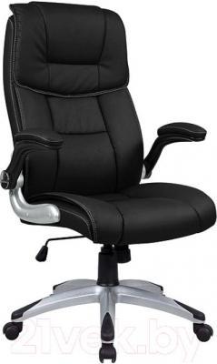 Кресло офисное Signal Q-021 (Black) - общий вид