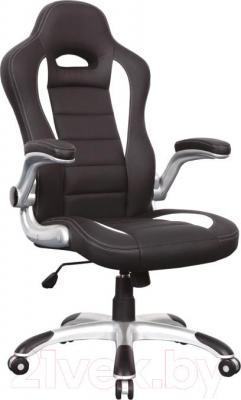 Кресло офисное Signal Q-024 (черно-белый) - общий вид