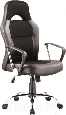 Кресло офисное Signal Q-033 (Black-Gray) - общий вид