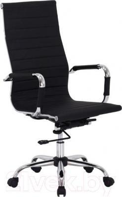 Кресло офисное Signal Q-040 (Black) - общий вид