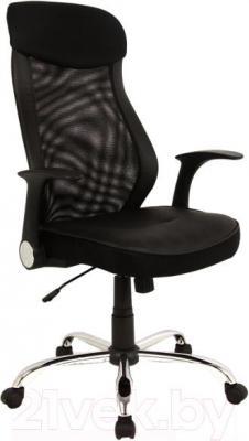 Кресло офисное Signal Q-120 (Black) - общий вид