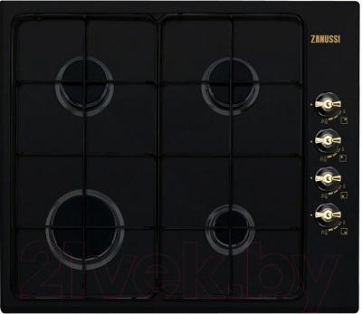 Газовая варочная панель Zanussi ZGG62414CA - общий вид