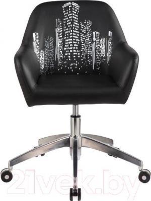 Кресло офисное Signal Q-888 (Black) - общий вид