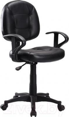 Кресло офисное Signal Q-011 (Black) - общий вид