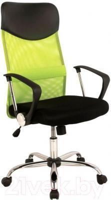 Кресло офисное Signal Q-025 (черно-зеленый) - общий вид