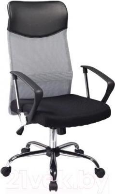 Кресло офисное Signal Q-025 (черно-серый) - общий вид