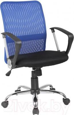 Кресло офисное Signal Q-078 (Black-Blue) - общий вид