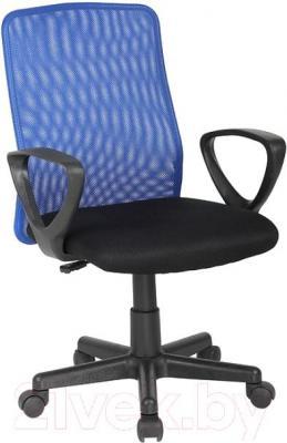 Кресло офисное Signal Q-083 (черно-синий) - общий вид