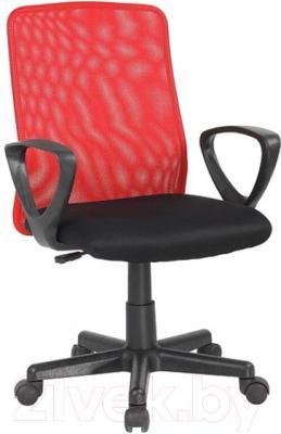 Кресло офисное Signal Q-083 (Black-Red) - общий вид