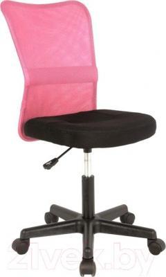 Кресло офисное Signal Q-121 (Black-Pink) - общий вид