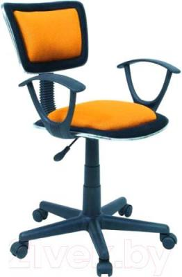 Кресло офисное Signal Q-140 (Orange) - общий вид
