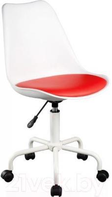 Кресло офисное Signal Q-767 (White-Red) - общий вид