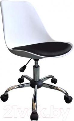 Кресло офисное Signal Q-777 (White-Black) - общий вид