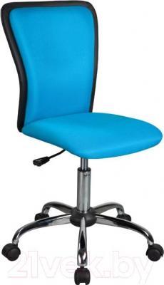 Кресло офисное Signal Q-099 (Black-Blue) - общий вид