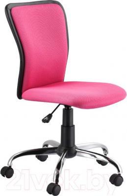 Кресло офисное Signal Q-099 (черно-розовый) - общий вид