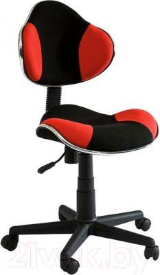 Кресло офисное Signal Q-G2 (Red-Black) - общий вид