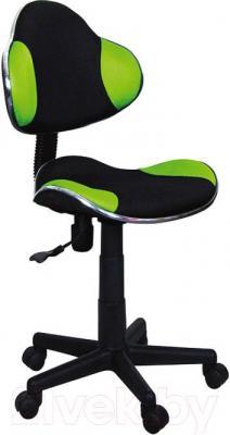 Кресло офисное Signal Q-G2 (черно-зеленый)