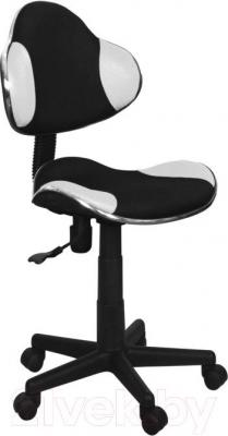 Кресло офисное Signal Q-G2 (бело-черный) - общий вид