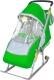 Санки-коляска Ника НД4 (зеленые) -