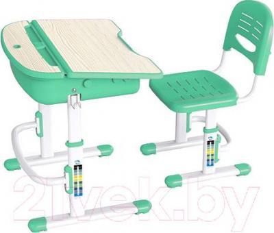 Парта+стул Sundays C301 (зеленый) - общий вид