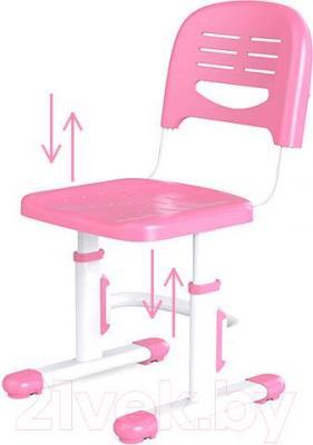 Парта+стул Sundays C301 (розовый) - вентилируемый стул