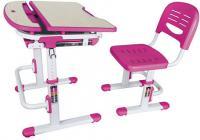 Парта+стул Sundays C304 (розовый) -