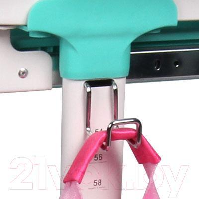 Парта+стул Sundays C304 (розовый) - крючок для сумки