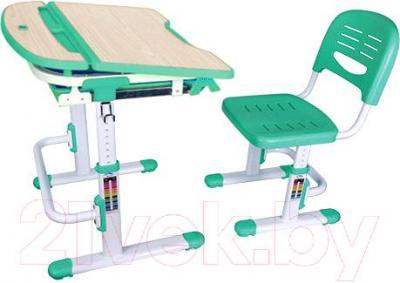 Парта+стул Sundays C305 (зеленый) - общий вид