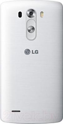 Смартфон LG G3 Dual LTE 32GB / D856 (белый) - вид сзади