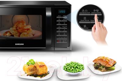 Микроволновая печь Samsung MC28H5013AK/BW - презентационное фото