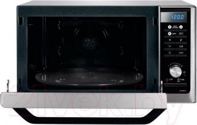 Микроволновая печь Samsung MC32F604TCT/BW - с открытой дверцей