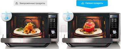 Микроволновая печь Samsung MC32F604TCT/BW - презентационное фото 1