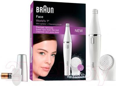 Эпилятор Braun Face Beauty Edition 810 - комплектация