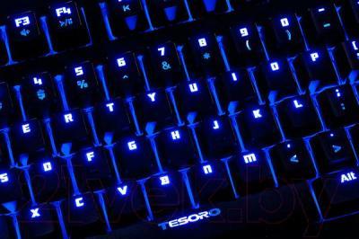 Клавиатура Tesoro Excalibur TS-G7NL (переключатели Kailh Red) - подсветка