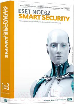 Антивирусное ПО ESET Smart Security+Bonus+расширенный функционал - общий вид