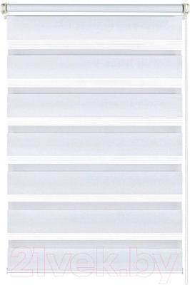 Рулонная штора Gardinia Изи фикс 100x150 (White) - общий вид