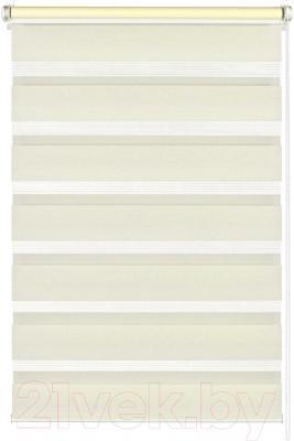 Рулонная штора Gardinia Изи фикс 100x150 (Cream) - общий вид