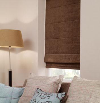 Римская штора Gardinia ОЕ702100 (100x160) - в интерьере